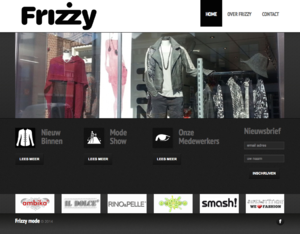Frizzy-mode-website